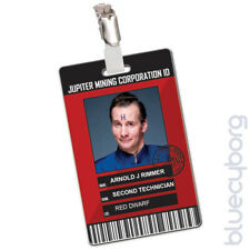Jupiter Mining Corporation - Arnold J Rimmer - Novelty ID Inspired By Red Dwarf