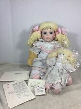 Marie Osmond Sunshine & Happiness Toddler Doll #46 Autographed Marie & Beverly