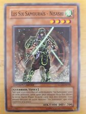 Les Six Samouraïs - Nisashi (The Six Samurai - Nisashi) Yu Gi Oh GLD2-FR020