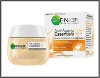 Garnier Essentials 35+ Anti-Ageing Wrinkle Corrector Day Cream 1.6oz 50ml NEW