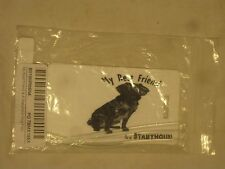 2 luggage tags Best Friend Stabyhoun Rikki Knight Flexi flexible tag + loops