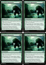 4x HOWLPACK RESURGENCE Shadows over Innistrad MTG Green Enchantment Unc