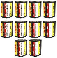10 Rolls Kodak Advantix Film APS 100 25 EXP C-41 100 ISO IX Bulk 100% Guarantee