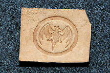 VAMPIRE BAT Leather Embossing / Clicker Stamp, Delrin / Acetal, NEW #004