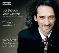 Anton Steck - Beethoven: Violin Concerto; Possinger: Violin Concerto [CD]