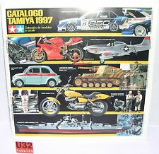 TAMIYA CATALOGO EDICION 1997 ENGLISH/SPANISH  NUEVO 87  PAGINAS