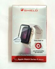 Zagg Glass Curve Elite Black Screen Protector For Apple Watch Series 4 (44mm)