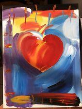 *Replica* Peter Max HEART VER IX #3