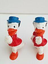 Alt Figur Disney Dagobert Duck 1977 Fehl Bemalung