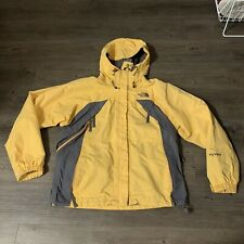 The North Face Women's HyVent Snowboard Ski Jacket Size Small Yellow Winter S