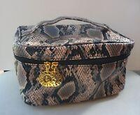 ESTEE LAUDER Snake Skin Print Makeup Cosmetics Bag, Large Size, Brand NEW!!