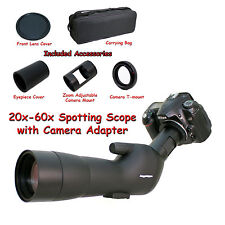 20-60x 60a 2000mm 6000mm Spotting Telescope for Nikon D5500 D750 Digiscoping