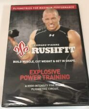 Georges Pierre RushFit: Explosive Power Training (DVD) Sealed! Brand New