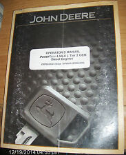 JOHN DEERE Operator's Manual PowerTech 4.5 / 6.8 L Tier 2 OEM Diesel Engines #19