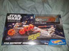 Disney Star Destroyer Assault Star Wars Rogue One Hot Wheels Starships X-Wing
