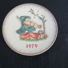 Goebel Hummel Annual Plate 1979 Singing Lessons