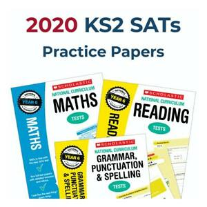 Year 6 English & Maths Tests | Year 6 SATs Books Revision | Answers & Audio
