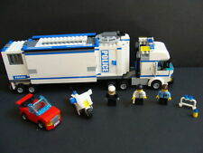 LEGO City Mobile POLICE Unit 7288 Headquarters Station Truck Prison Motorcycle