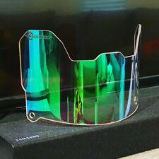 Precision Football Helmet Visor, Clear Revo Green