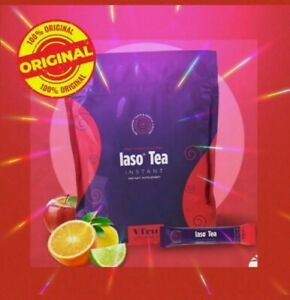 🎈New Fruit Punch Flavor🎈 Iaso Detox Instant Tea From TLC -Month Supply-