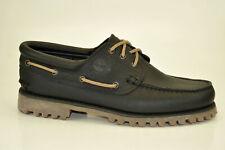Timberland Authentics Classic 3-Eye Lug Boat Shoes Loafers Moccasins A1UJK