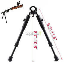 for Rifle Barrel Clamp-on Foldable Extend Leg Adjustable Hunting Bipod