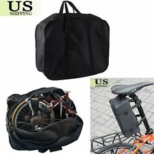 Bike Travel Bag Case Box Thick Bicycle Folding Carry Pouch 14 inch to 20