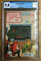 Deadpool's Art Of War #1 Burnham Variant CGC 9.8
