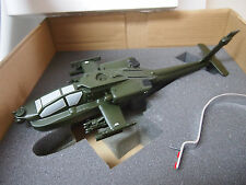 MODEL WORKS  Helicopter Army Apache Longbow AH-64d Factory Desk Model