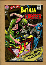Brave and the Bold #80 - Batman and the Creeper! - 1968 (Grade 8.0) WH