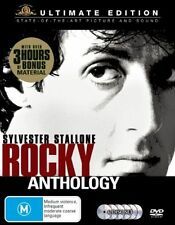 Rocky Collection (DVD, 2005, 6 disc set