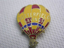 Hot Air Balloon PIN BUTTERFIELD Savings Vintage '84