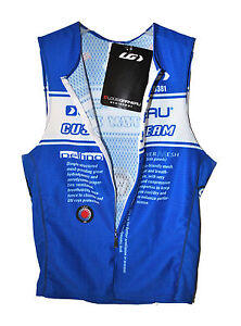 Nw Genuine Louis Garneau Performance Delfino Racer Top triathlon cycling running