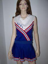 Cran Barry Cheerleader Uniform Top (M) Skirt (12) Very Good Condition PO #1