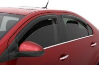 Rain Guards - AVS Tape-On Window Visors FOR NISSAN SENTRA 2007-2012