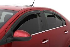 FITS TOYOTA COROLLA 2009-2011 AVS TAPE ON RAIN GUARDS WINDOW VISORS 4PCS