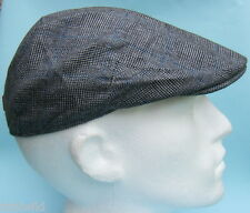 Flat Cap Grey Tweed Summer