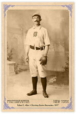Baseball Legend Bob Allen Boston Beaneaters 1897 Photograph Vintage A++ Reprint