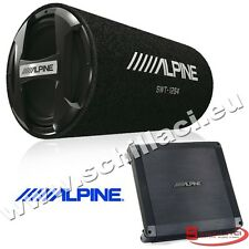 Kit subwoofer tubo 30 cm 1000 watts + Amplificatore Alpine