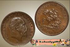 GB. - Trial 1/2 Farthing of Edward VII, Coronation Model 1902  ..  aUNC-UNC