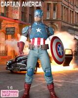 Crazy Toys 1/6 Scale Captain America Marvel Universe Avenger Action Figure NIB