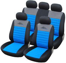 Autositzbezüge Sitzbezug Schonbezug Universal Schonbezüge Schwarz/Blau AS7318