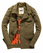 Superdry Cotton Military Coats & Jackets for Men