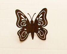 Edelrost Schmetterling zum Einschrauben 11x12cm
