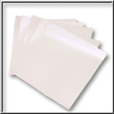20 135 x 135MM LILAC PEARLESCENT SHIMMER PAPER INSERTS 120GSM