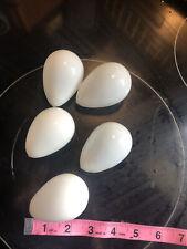 milk glass eggs