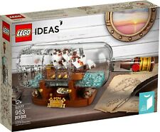 LEGO Ideas - 92177 - Ship In A Bottle Set - (Brand New & Sealed)