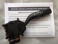 Mazda MX5 Intermittent Variable Speed Wiper Control Stalk. Mk3 / 3.5 / 3.75 NC