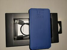 Mophie 8000 mAh Powerstation Mini Battery - New. Blue