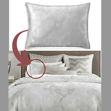 NIB $100 Hotel Collection Interlattice (1) Standard Sham Pillow case #3265